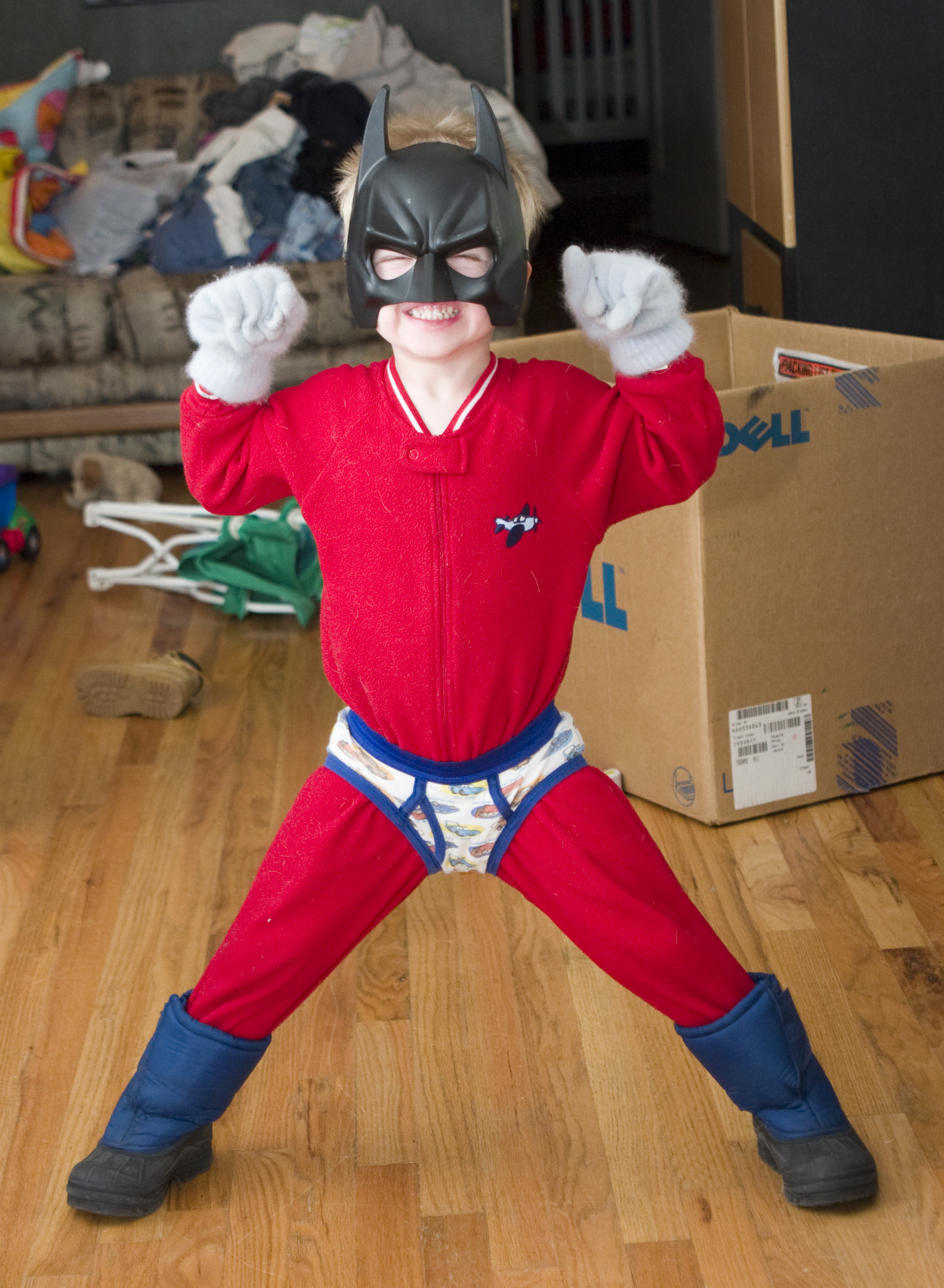Gallery For &gt Homemade Superman Costume For Kids - Super Easy Halloween Costumes